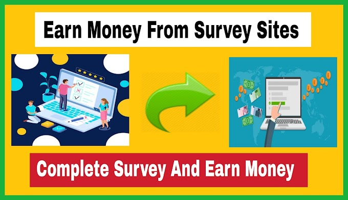 Earn Money From Survey Sites