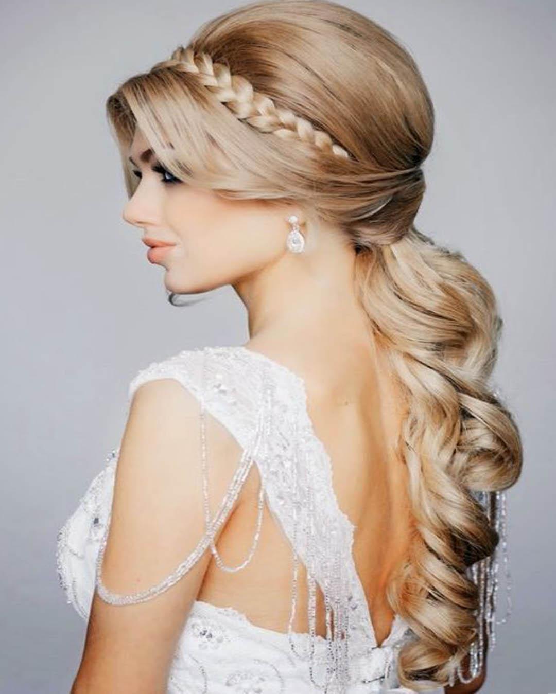 Hermoso peinados elegantes Fotos de tutoriales de color de pelo - Peinados para GRADUACIONES elegantes y refinados - ElSexoso