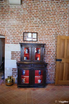 Il Salone rinascimentale dove Leonardo intratteneva gli ospiti