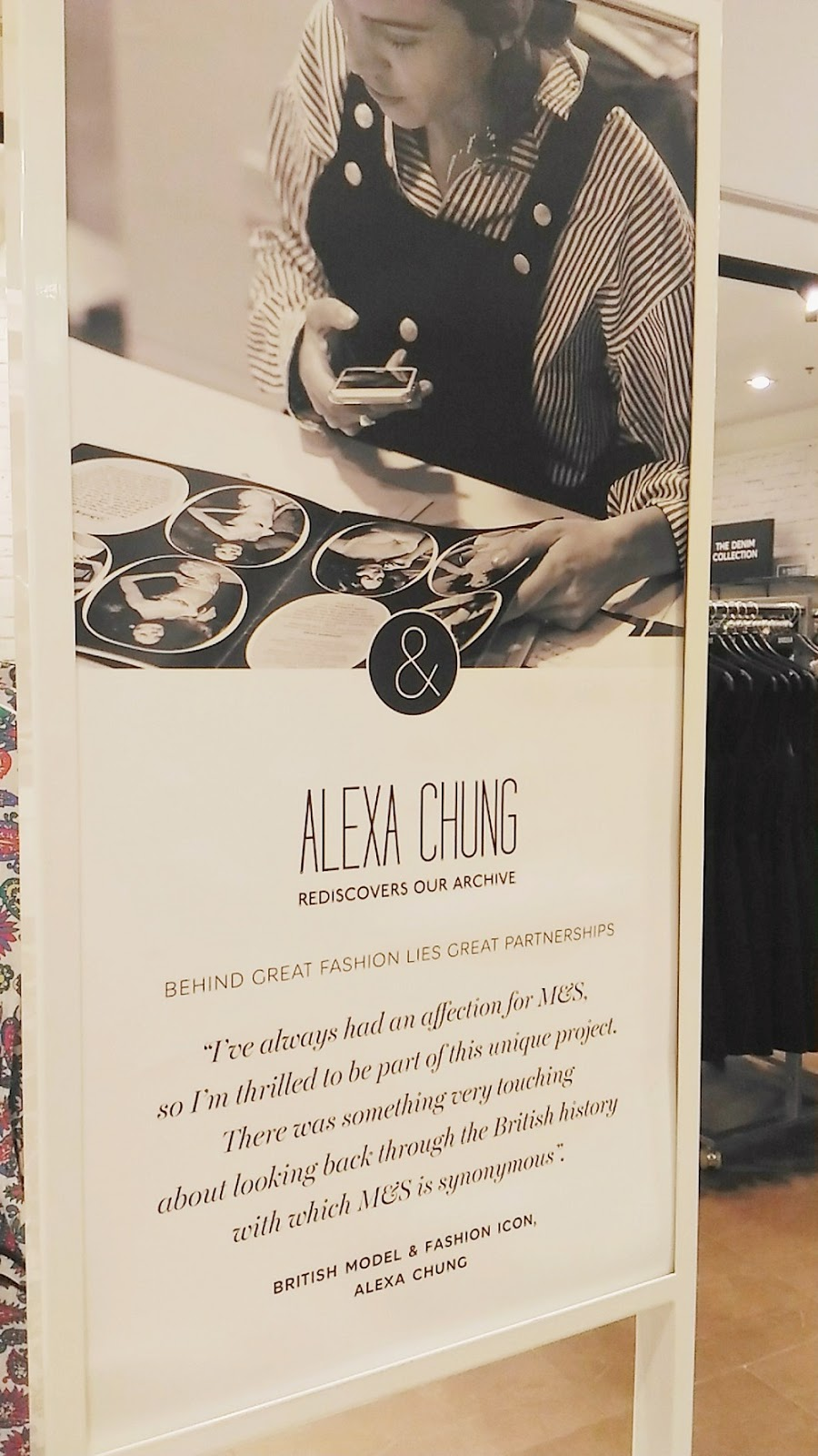 Alexa Chung for Marks & Spencer collaboration