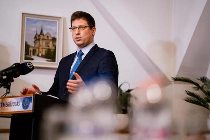 Gulyás Gergely: A Fidesz EPP-tagsága már csak technikai kérdés