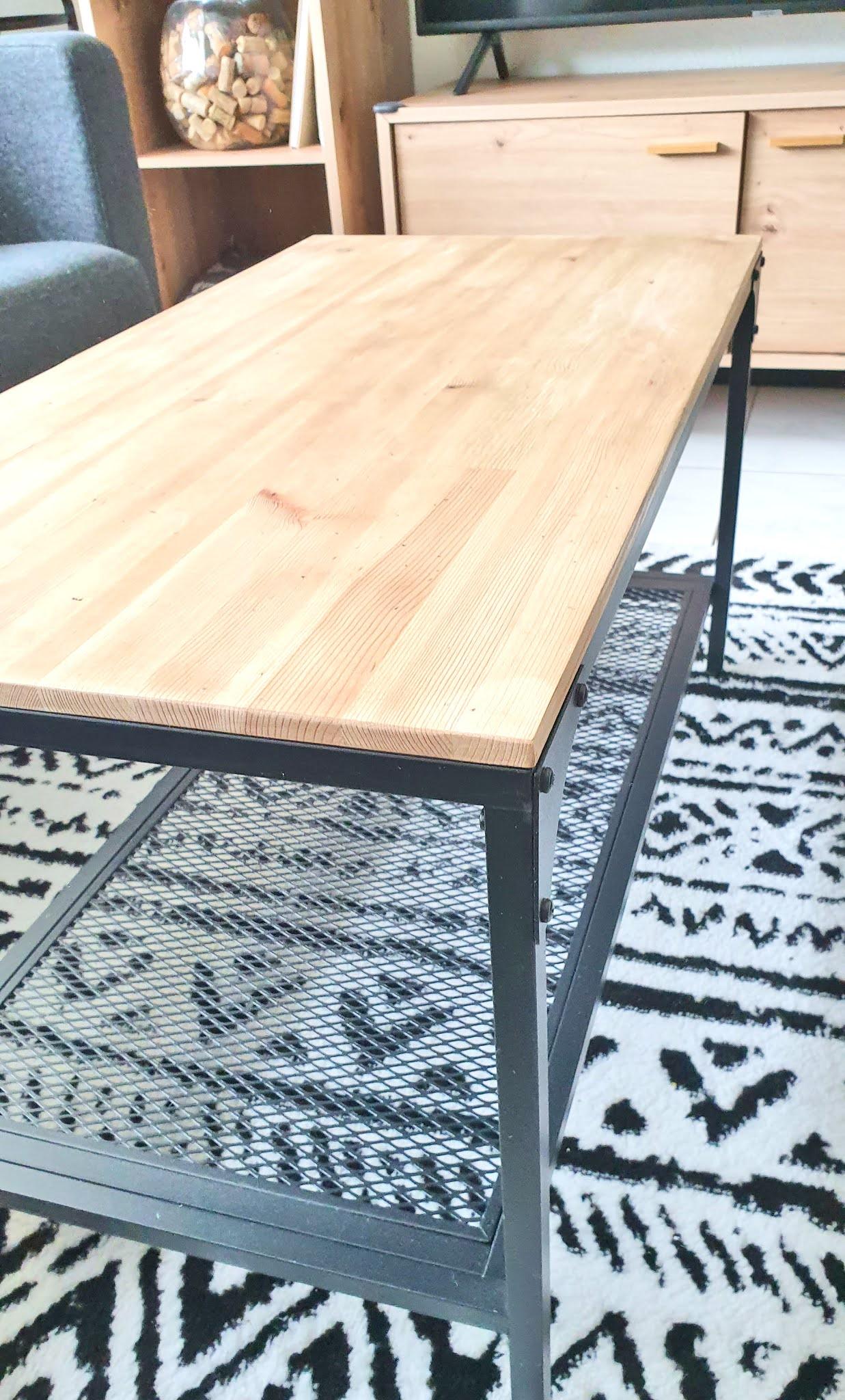 metamorfoza stolika z ikei
