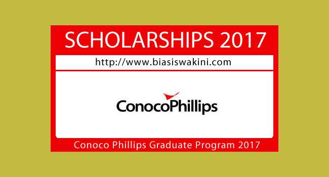 Conoco Phillips-Graduate Program 2017