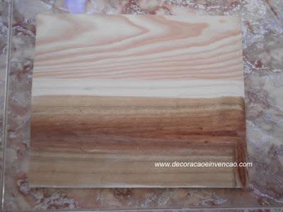 envelhecer madeira com vinagre