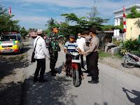 Team Gempur Covid - 19, Polsek Tanjung Beringin Gencar Giat Ops Yustisi