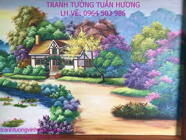 vẽ tranh tường tại xuân hòa phúc yên vĩnh phúc2