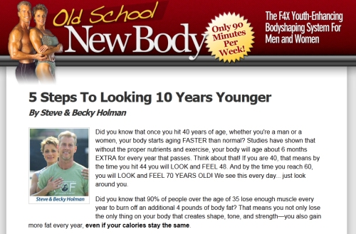 Old School New Body Book