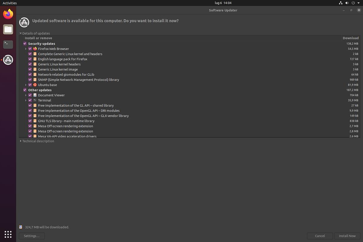 Come tenere aggiornato Ubuntu