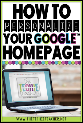 Learn how to personalize your Google™ homepage and tabs in your Chrome browser using a Chrome extension. Also learn how this could benefit students and grab a FREE download.