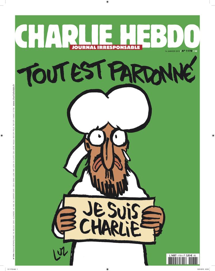 Les Tours De Laliberte Caricature Mahomet Est Charlie