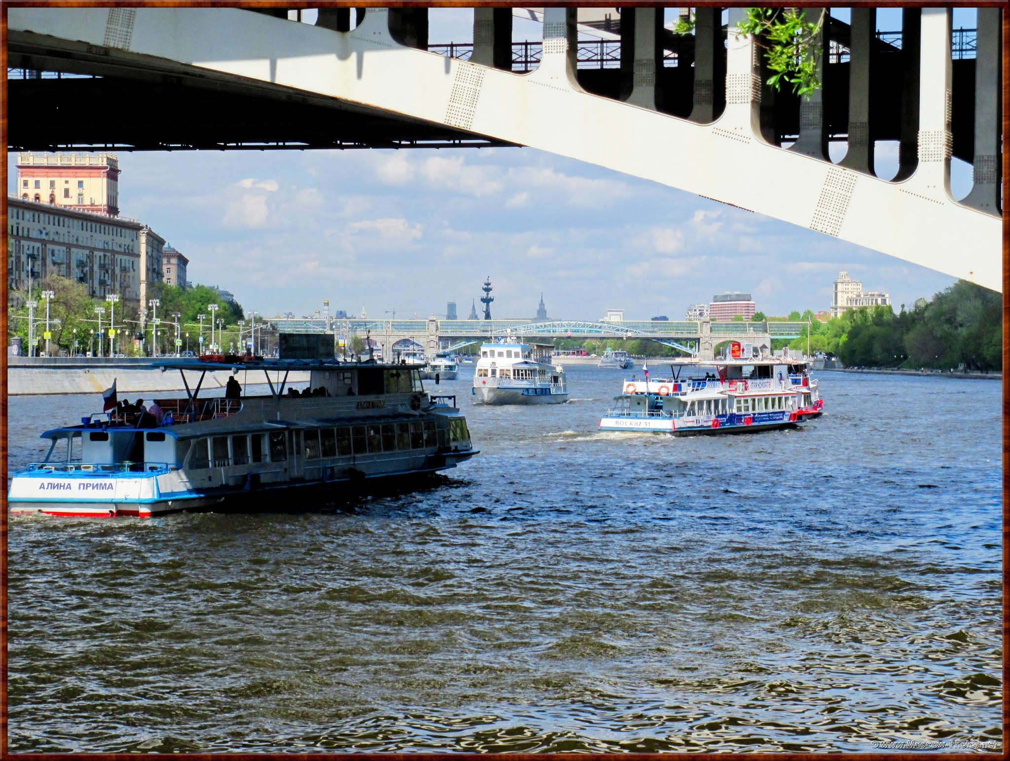 Moscow-River and bridges