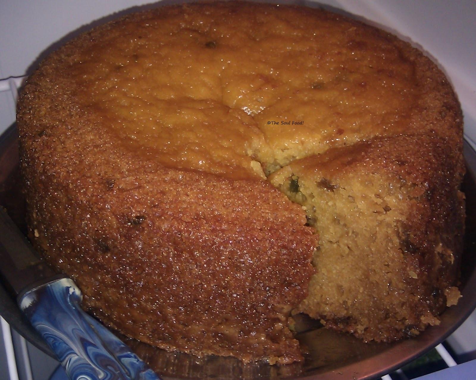 The Soul Food: Eggless Mango Cake