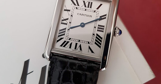 [FOR SALE] PREOWNED CARTIER TANK SOLO MEDIUM