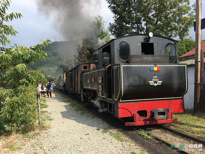 [羅馬尼亞.上維謝烏] 馬拉穆列地區(Vișeu de Sus)木造教堂建築群 林木運輸蒸氣火車