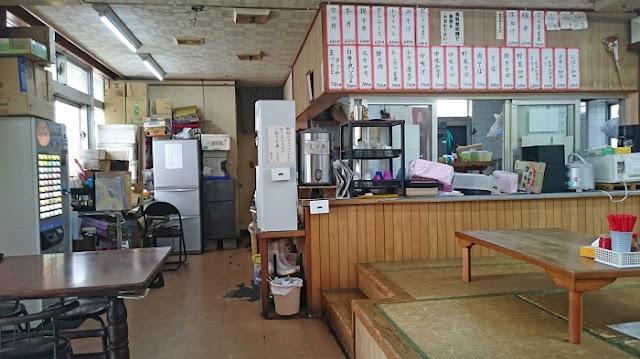 まつもと食堂の店内の写真