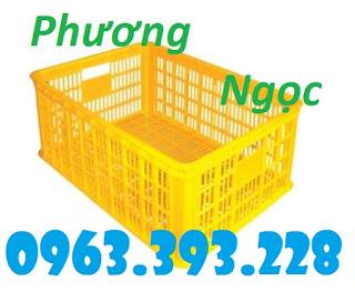 Sóng nhựa rỗng HS014, sọt nhựa chứa hàng, sọt nhựa nan thẳng 00740a43df8426da7f95