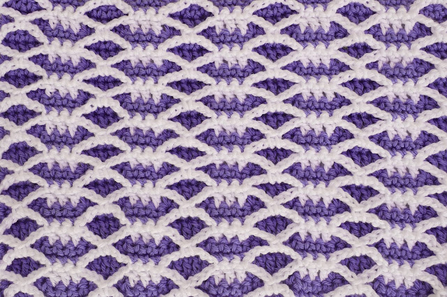3 - Crochet Imagen Puntada combinada de otoño a crochet y ganchillo por Majovel Crochet