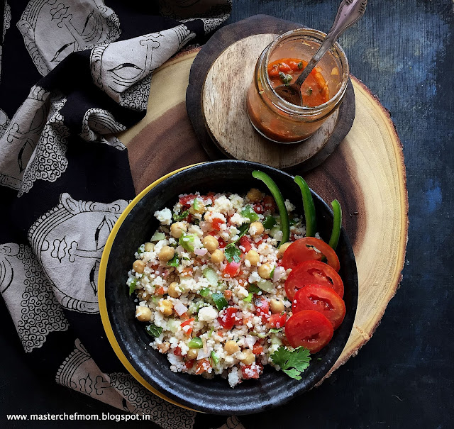 Little Millet Salad Recipe