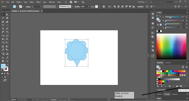 Save Swatches in Adobe Illustrator