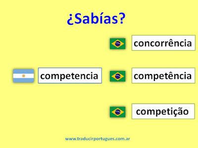 concorrência, competencia, competição, español, portugués
