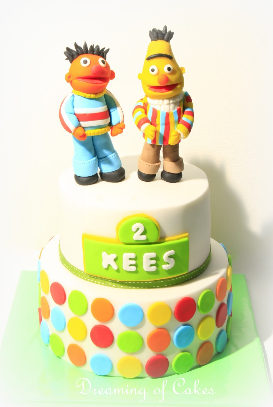 taart bert en ernie Dreaming of Cakes: Bert en Ernie taart taart bert en ernie