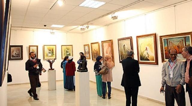 فاس: افتتاح المعرض المغربي للفنون التشكيلية