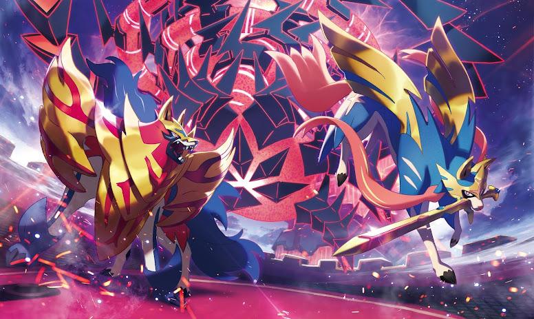 Pokémon Lendário Sword e Shield