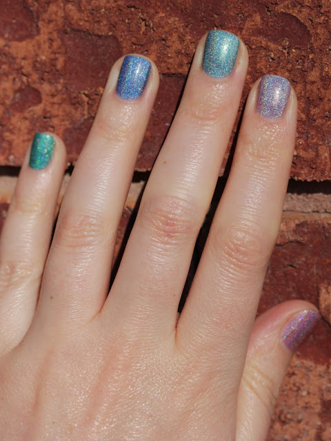 Paint It Pretty Polish Easter holographic swatch by Streets Ahead Style