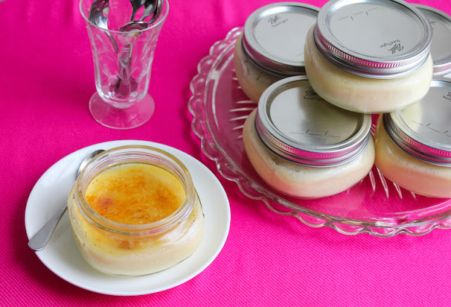 Food Lust People Love: This sous vide crème brûlée is creamy and rich, just as crème brûlée should be, with a crispy golden sugar topping. If you have a sous vide machine, it's so much easier than baking in a water bath in the oven.