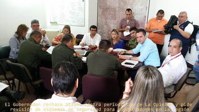 GobNdeS (E) Yebrail Haddad Linero, en Consejo de Seguridad, rechaza acto delictivo contra periodistas #RSY #OngCF #CFNnoticias