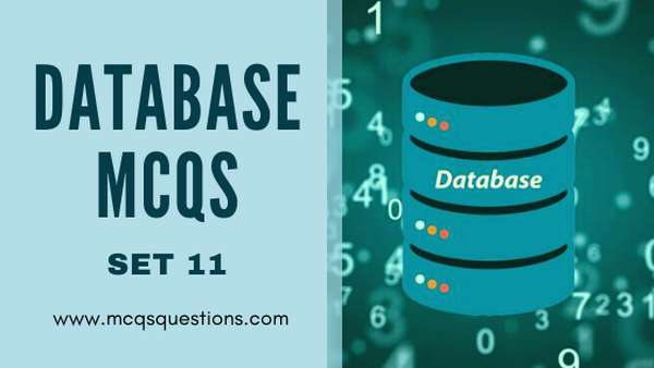 Database SQL MCQs set 11