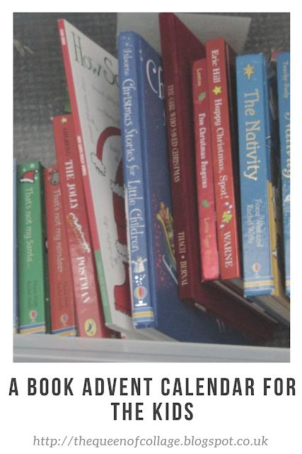 A Book Advent Calendar for the Kids