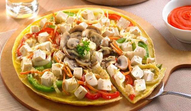 Cara Mudah Membuat Pizza Tahu Sosis