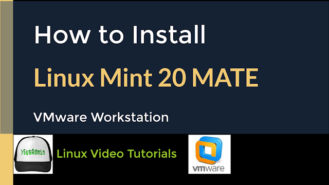 How to Install Linux Mint 20 MATE on VMware Workstation