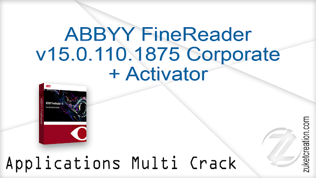 ABBYY FineReader v15.0.110.1875 Corporate + Activator