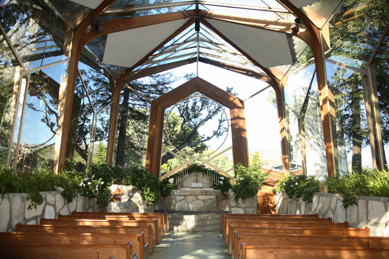 Oh, By The Way...: BEAUTY: Architecture--Wayfarers Chapel