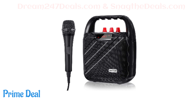 Portable PA Speaker System Bluetooth Karaoke System  40% OFF
