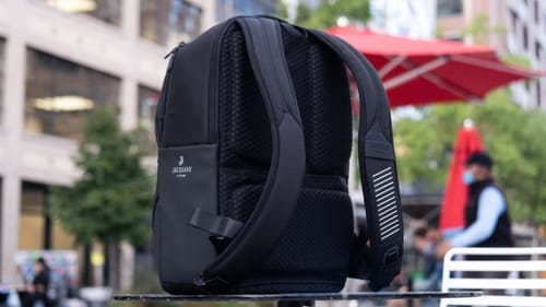 You can use the Google Smart Backpack to control your phone