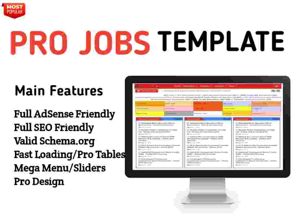 Pro Job Blogger Template