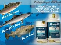 Z 221 SQUAVIT 40 Softgel Squalene Deep Ocean Fish Liver Oil - Minyak Ikan Omega 3 6 Squa Original A