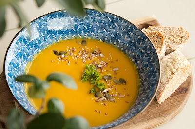 Carrot Ginger Soup. Photo by Jade Aucamp on Unsplash