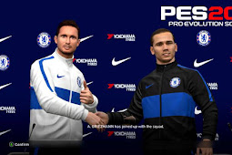 Chelsea Pass Room And Manager Kits - PES 2017