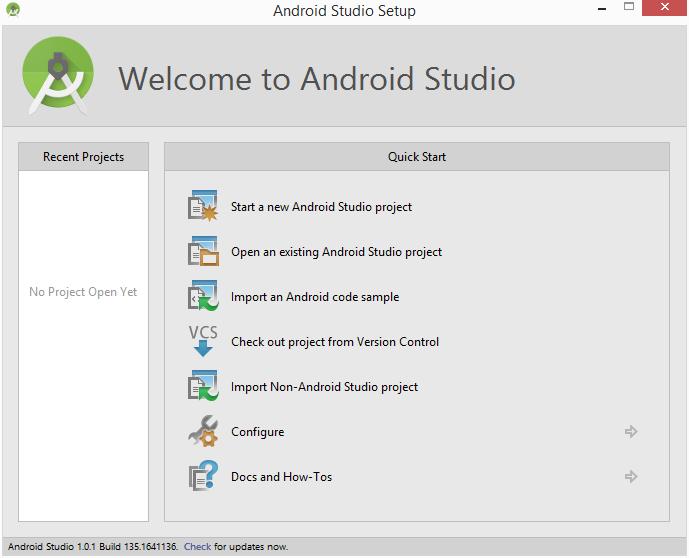 Cara Membuat Aplikasi (Project Baru) Android Studio