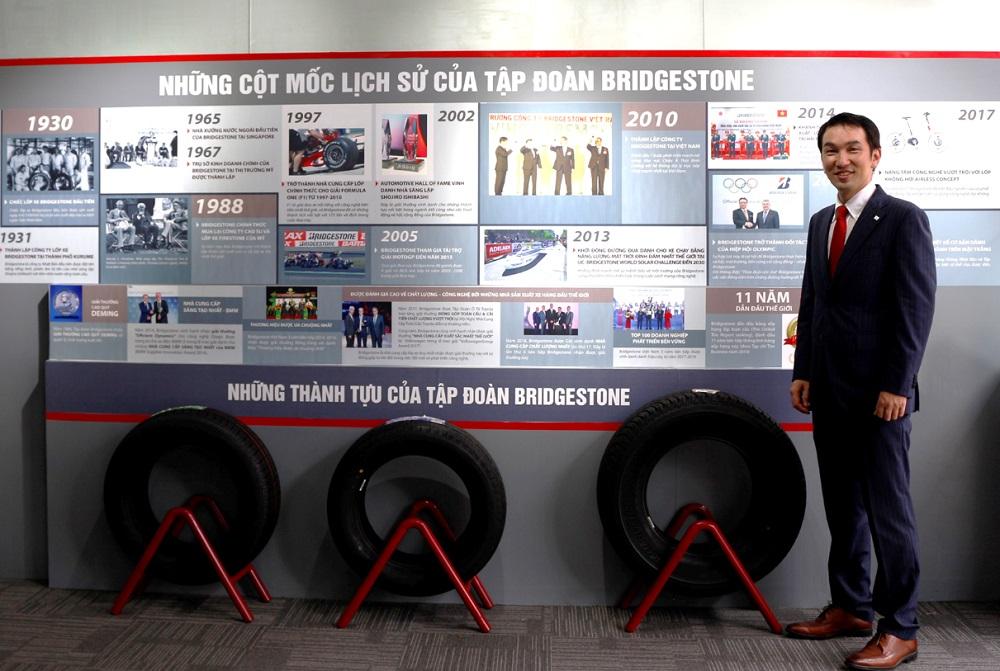 """Bridgestone nâng """"chuẩn"""" cho trung tâm chăm sóc lốp xe cao cấp B-select"""