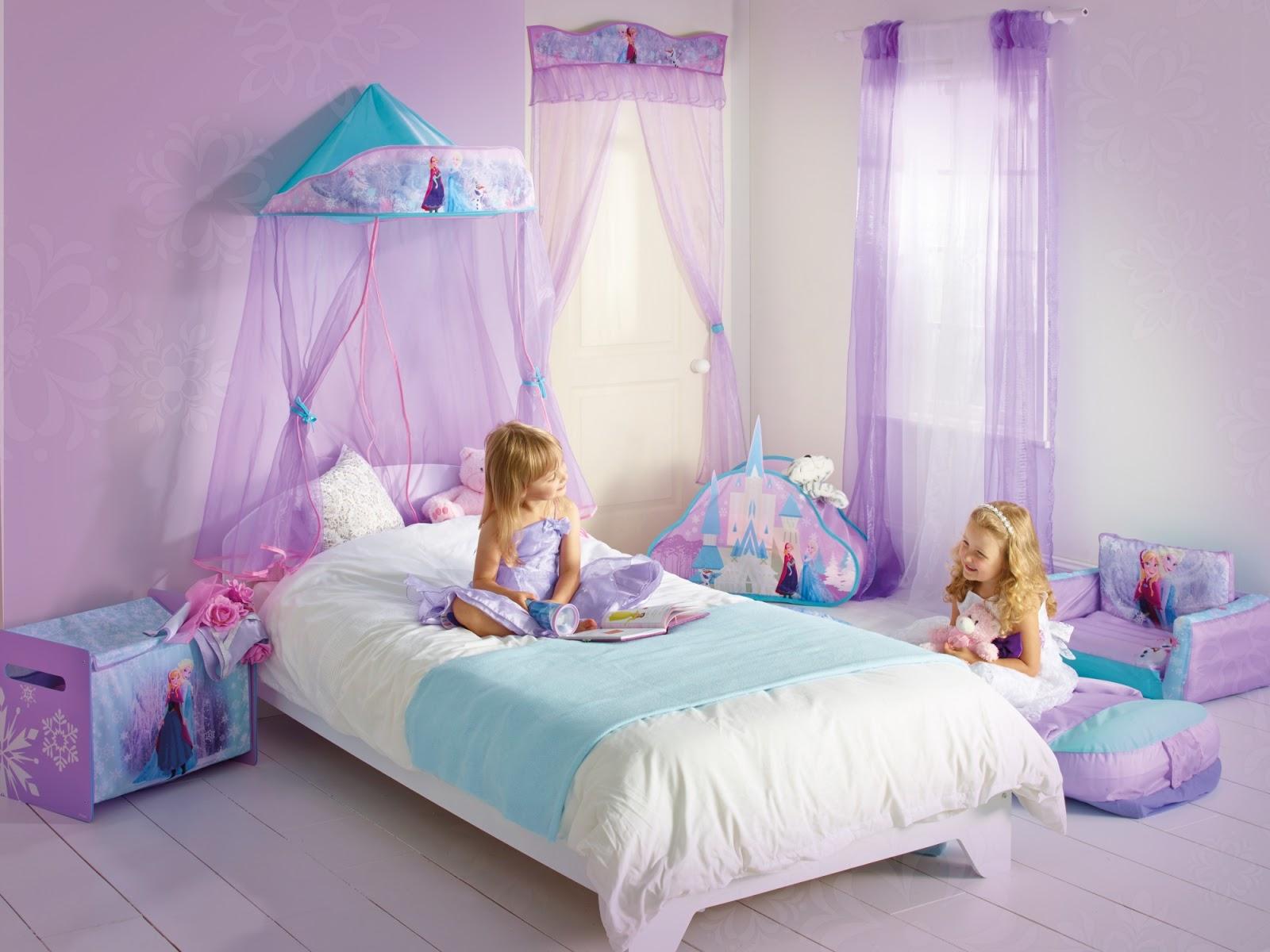 15 Desain Kamar Anak Perempuan Frozen 04