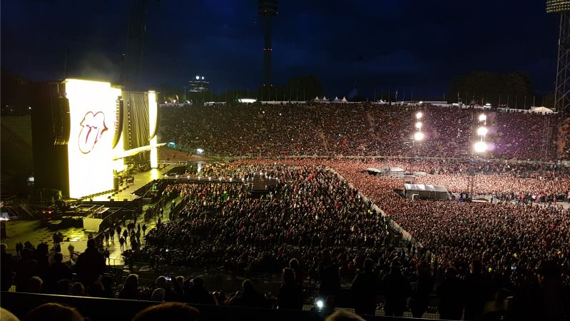 Rolling Stones #NoFilter 2017 München Olympiastadion
