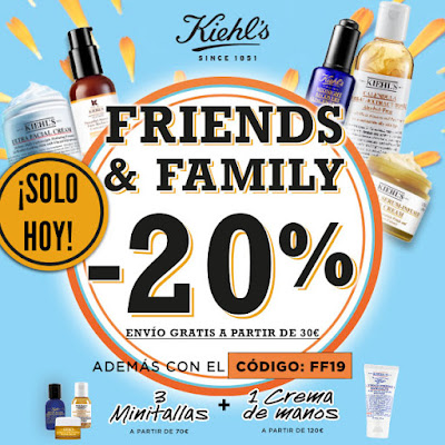 FRIENDS&FAMILY Kiehl's Midnight Recovery Concentrate beauty skincare belleza cuidado facial