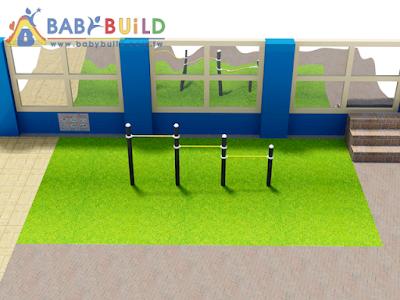 BabyBuild 遊戲場設計彩圖