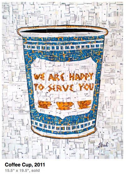 new york classic greek coffee cup art