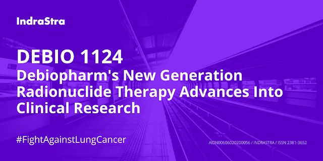 Debiopharm's Debio 1124, a Molecular-targeted Radiotherapy Advances Into Clinical Research